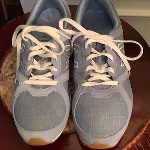 New balance light blue sneakers brand new